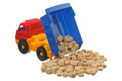 Sugar in the truck Royalty Free Stock Photo