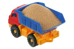 Sugar in the truck Royalty Free Stock Image