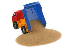 Sugar in the truck Royalty Free Stock Photography