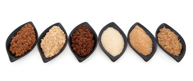 Sugar Varieties Stock Photography