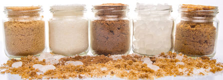 Sugar Variety I Royalty Free Stock Photos