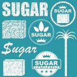 Sugar. Vector illustration (EPS 10 Stock Photography