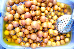 Sugar water pears Royalty Free Stock Photos