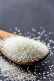 Sugar. White sugar crystals for cooking and baking Royalty Free Stock Images