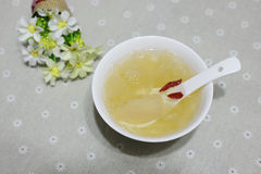 Sugar white fungus soup Sydney Royalty Free Stock Photography