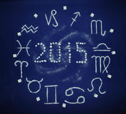 Sugar zodiac 2015 Stock Images