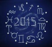 Sugar zodiac 2015 Stock Images