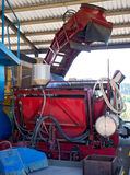 Sugarcane Harvesting Machine Royalty Free Stock Photos