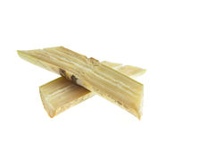 Sugarcane isolated on white background Stock Photos