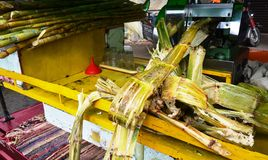 Sugarcane Juice Machine Stock Photos