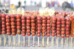 Free Sugarcoated Haws On A Stick Stock Images - 23333334