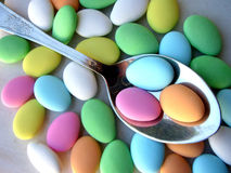 Sugared Almonds Stock Images