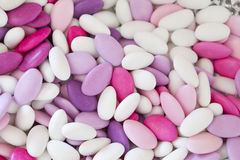 Sugared almonds Royalty Free Stock Photography