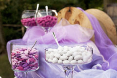 Sugared almonds Royalty Free Stock Photos
