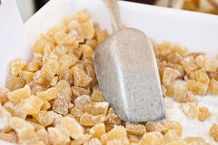 Sugared Candy. Sugar sprinkled on top of candy royalty free stock images