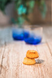 Sugared Cookies Royalty Free Stock Photography