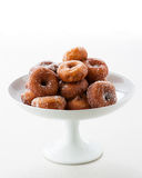 Sugared donut Stock Image