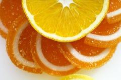 Sugared orange slices Royalty Free Stock Photo