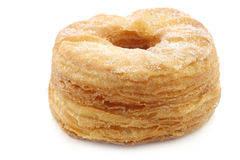 Sugared puff pastry donut Royalty Free Stock Images