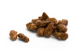 Sugared roasted almonds Royalty Free Stock Image