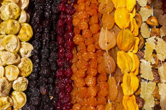 Sugared Sweet Fruits,Armenia. Royalty Free Stock Photo