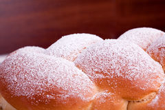 Sugared yeast bread Royalty Free Stock Photography