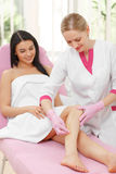 Sugaring: Beauty Concept Stock Image