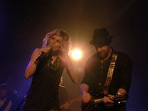 Sugarland on stage Stock Photography
