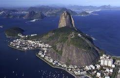 Sugarloaf山-里约热内卢-巴西 免版税图库摄影