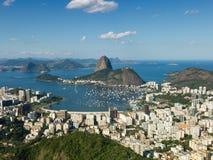 Sugarloaf berg - Rio de Janeiro Arkivfoton