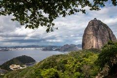 Sugarloaf berg, Rio de Janeiro Royaltyfria Bilder