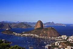 Sugarloaf Brasil de Rio de Janeiro fotografia de stock