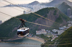 Sugarloaf Cable Car Stock Photography