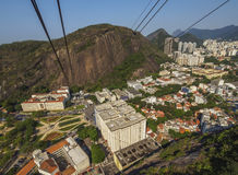 Sugarloaf Cableway in Rio Royalty Free Stock Images