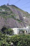 The Sugarloaf elevating train. Stock Photography