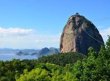 Sugarloaf i Rio de Janeiro Arkivfoto