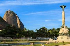 Sugarloaf Monument square, Rio de Janeiro Stock Images