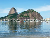 Sugarloaf Mountain in Brasil Stock Photography