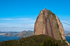 Sugarloaf Mountain. Panoramic View of Sugarloaf Mountain, Rio de Janeiro, Brazil Royalty Free Stock Photos