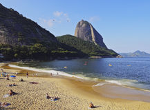 Sugarloaf Mountain in Rio Royalty Free Stock Images