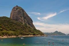 Sugarloaf Mountain, Rio de Janeiro Stock Photography