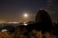 Sugarloaf Mountain Rio De Janeiro Brazil Royalty Free Stock Photos