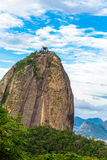 Sugarloaf Mountain in Rio de Janeiro, Brazil Stock Images