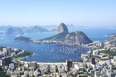 Sugarloaf Mountain in Rio de Janeiro, Brazil Stock Photos