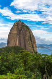 The Sugarloaf Mountain in Rio de Janeiro, Brazil Stock Photo