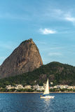 Sugarloaf Mountain in Rio de Janeiro, Brazil Royalty Free Stock Image