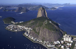 Sugarloaf Mountain - Rio de Janeiro - Brazil Royalty Free Stock Photography