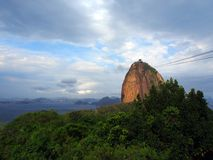Sugarloaf Mountain in Rio de Janeiro, Brazil Royalty Free Stock Photos