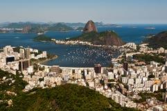 Sugarloaf Mountain, Rio de Janeiro, Brazil Stock Image