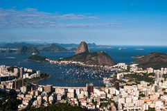 Sugarloaf Mountain, Rio de Janeiro, Brazil Royalty Free Stock Images
